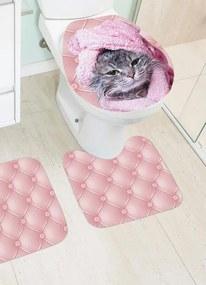 Jogo de Banheiro Cat 3 Peças