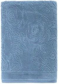 Toalha de Rosto em Algodão Charlote - Karsten Azul crepusculo