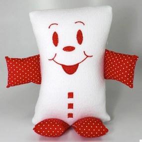 Naninha (Travesseiro) Pequeno Cuca Criativa Vermelho