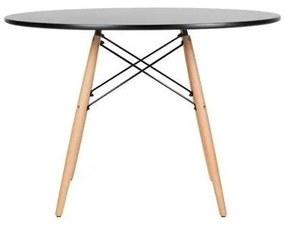 Mesa Eames Preta 110cm - Concept