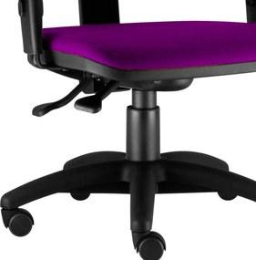 Cadeira Giratória Lyam Decor Job Roxo