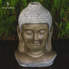 Fonte Cabeça de Buda 80cm