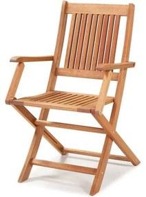 Cadeira Dobravel Primavera Com Bracos Stain Jatoba - 34807 Sun House