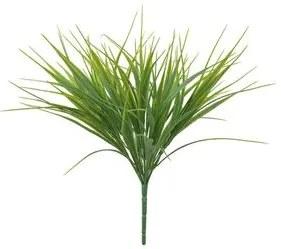 Planta Folhagem Grass 40cm Verde Flor Arte