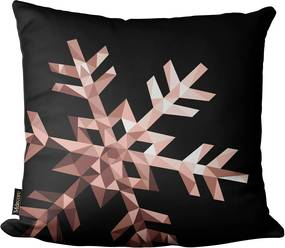 Capa para Almofada Mdecore Natal Cervo Geometrico Colorido -45x45cm