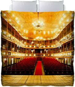 Edredom Colours Creative Photo Decor - Teatro Amarelo