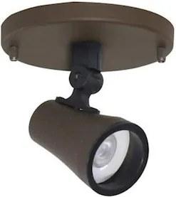 Spot Com Canopla Sobrepor Alumínio Dicroica Gu10 Soft