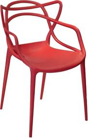 Cadeira 100% Polipropileno Vermelha