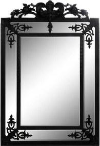 Espelho Clássico com Moldura Preta 137x92x3cm