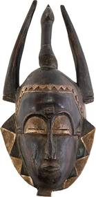 Máscara Tribal Yaure | Costa do Marfim