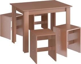 Mesa com Banquetas CJE1103 Ceramic - Móveis Canção