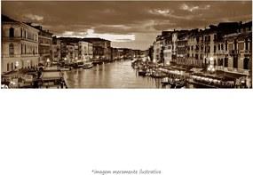 Poster O Grande Canal De Veneza - Vs Sépia (170x60cm, Apenas Impressão)