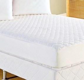 Protetor de Colchão Casal Prátik Branco com 1 peças em Algodão e Poliéster - Ione Enxovais