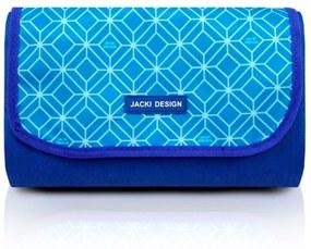 Tapete Piquenique Impermeável Jacki Design Dobrável Azul .