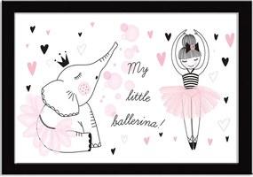 Quadro Decorativo Little Ballerina Friendship
