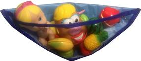 Organizador de Brinquedo Organibox para banho azul