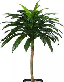 Árvore Dracena Pau D'Água 110cm Planta Artificial