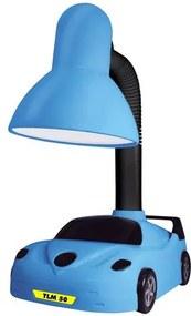 Luminária de Mesa Infantil Azul 1xE27 Carro TLM 50 Taschibra