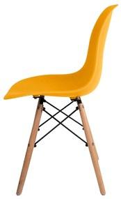 Cadeira Eames Amarela Dsw - Empório Tiffany