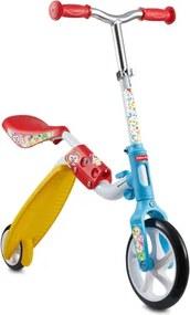 Bicicleta de Equilíbrio e Patinete 2 Em 1 Fisher Price - ES1