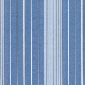 Papel de Parede Listrado Azul Jeans 52cm x 10m Classique