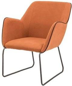 Poltrona Elite Tangerine Base Preta 84cm - 60060 Sun House