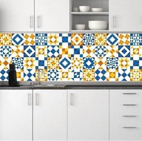 Adesivo Azulejos Geométricos Amarelo (20x20cm)