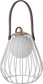 abajur LAMP metal branco 1xbipino 18cm Bella ML001W