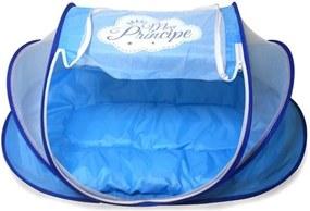 Berço Mosquiteiro Azul Portátil Príncipe - Unik Toys