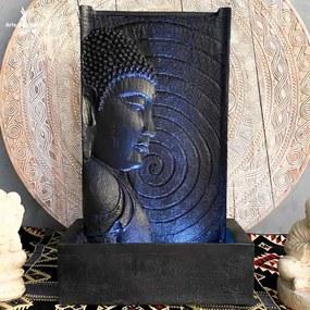 Fonte Luminosa Paredão Buda Preta