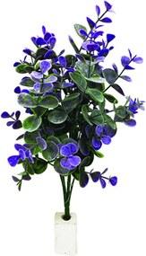 Ramo Flores Artificiais  FOLHAGEM 12 pçs  34 cm Ilunato  AR0056