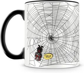 Caneca Personalizada Homem Aranha e Homem Formiga