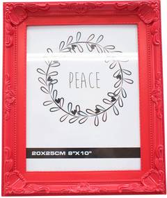 Porta retrato Minas de Presentes 1 foto 20x25cm Vermelho