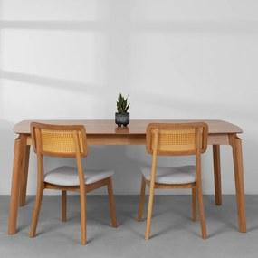 Mesa de Jantar Lala Cinamomo - 180x100cm