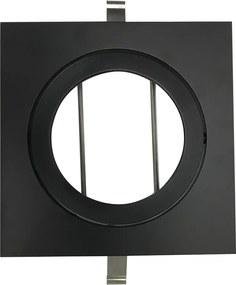 Embutido Direcional Quadrado para PAR30 Preto - BL1087/1PF - Bella Luce