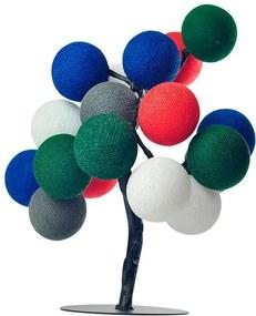 Árvore de Luz Natal Lapônia com 20 Bolinhas - Bivolt