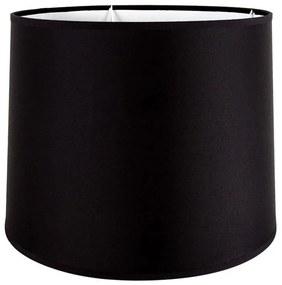 Cupula de Abajur Cônica 35x25 Preto