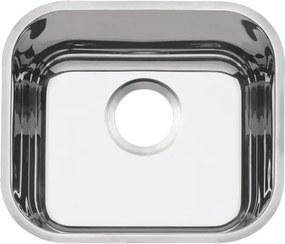 Cuba em aço inox alto brilho 40x34 cm - Prime - Tramontina