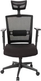 Cadeira de Escritório Toledo Giratória - Preta