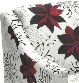 Kit 2 Poltronas Dakota C/ Pés Palito Suede Aveludado Estampado Floral