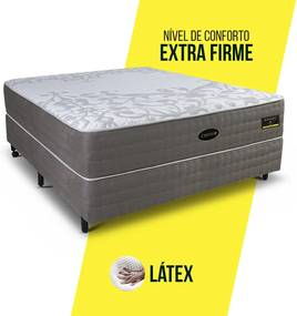 Conjunto Casal Infinity Látex - Extra Firme - 1,38 x 1,88