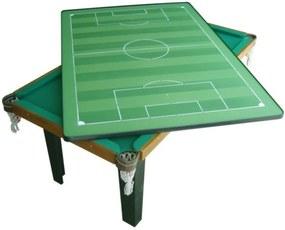 Mesa Multiuso 4 em 1 Klopf MDF 20mm Sinuca, Ping-Pong, Futebol de Botão, Mesa uso Diverso