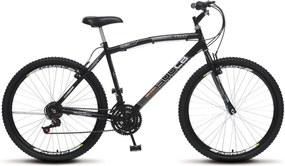 Bicicleta Colli Bikes Aro 26 CB 500 Chev Preto Fosco