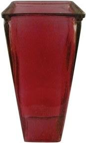 vaso CÁTIA vidro vermelho Ilunato LW0003E