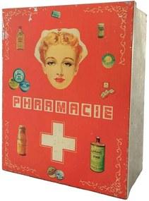 Caixa Vintage Farmácia Pink