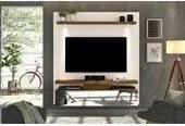 Painel Home Luce Para Tv 60 Polegadas Off White Demolição DJ Móveis