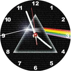Relógio Decorativo Pink Floid Dark Side Of The Moon
