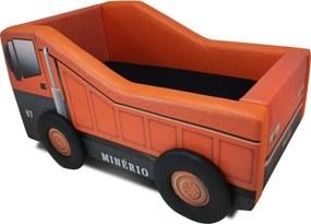 Cama Infantil Vasculante - Cama Carro Laranja