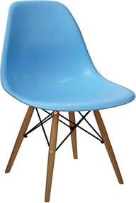 Cadeira Megral em Polipropileno Azul