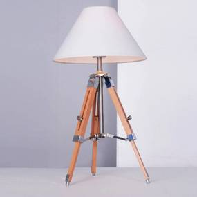 luminária de mesa ALUMÍNIO 1xbulbo Bella EA008S